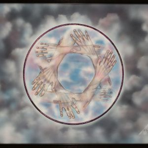 0000257 eternal blue sky fading flesh permanent ink